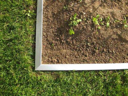 Beet- und Rasenkante